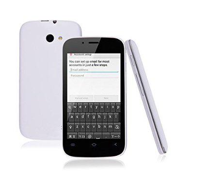 "Smartphone 4"" Ubbiu 4Go (Android 4.2) - Blanc"