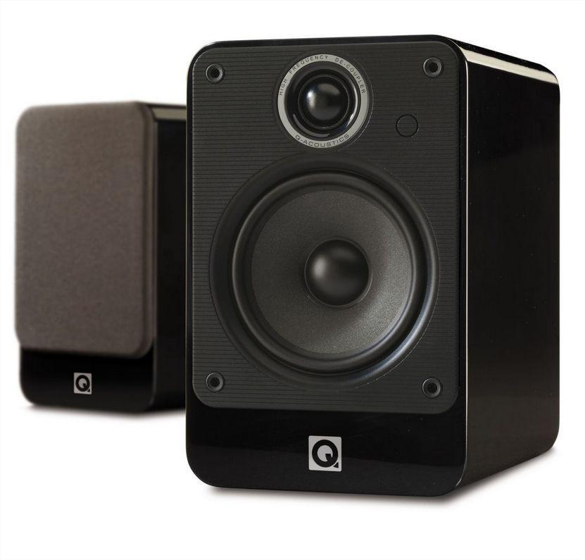 Paire d'enceintes bibliothèque Q Acoustics 2020i - Noir