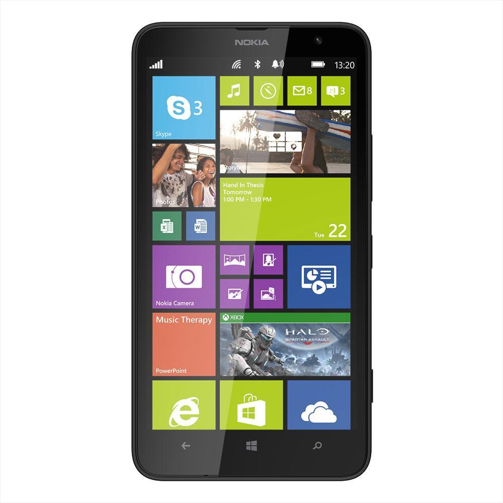 """Smartphone 6"""" 4G-LTE - Nokia Lumia 1320 Noir ou Blanc (Avec ODR de 50€)"""