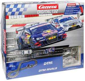 Circuit de voiture carrera digital 132 DTM Rivals 30165