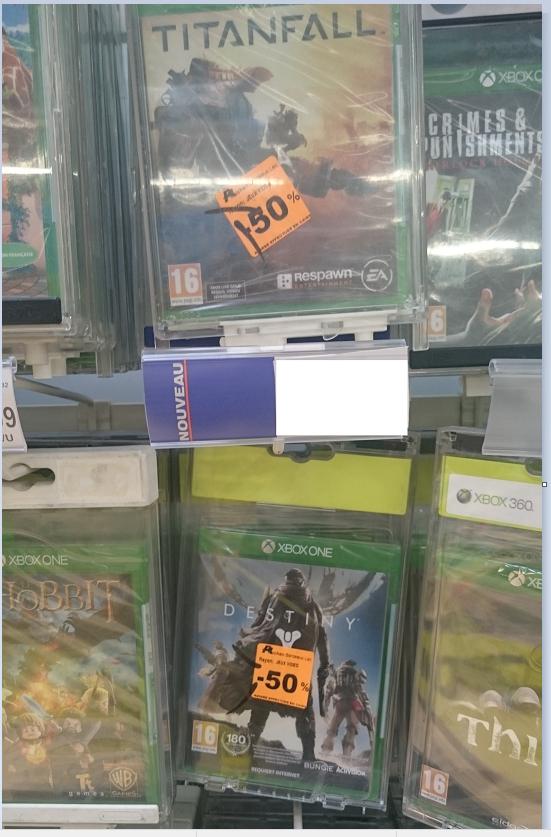 Destiny sur Xbox One à 29€, et TitanfalI