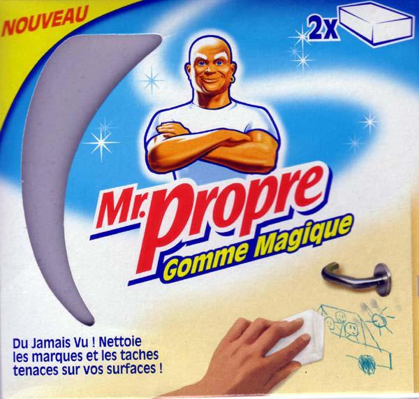 Gomme Magique Mr Propre gratuite