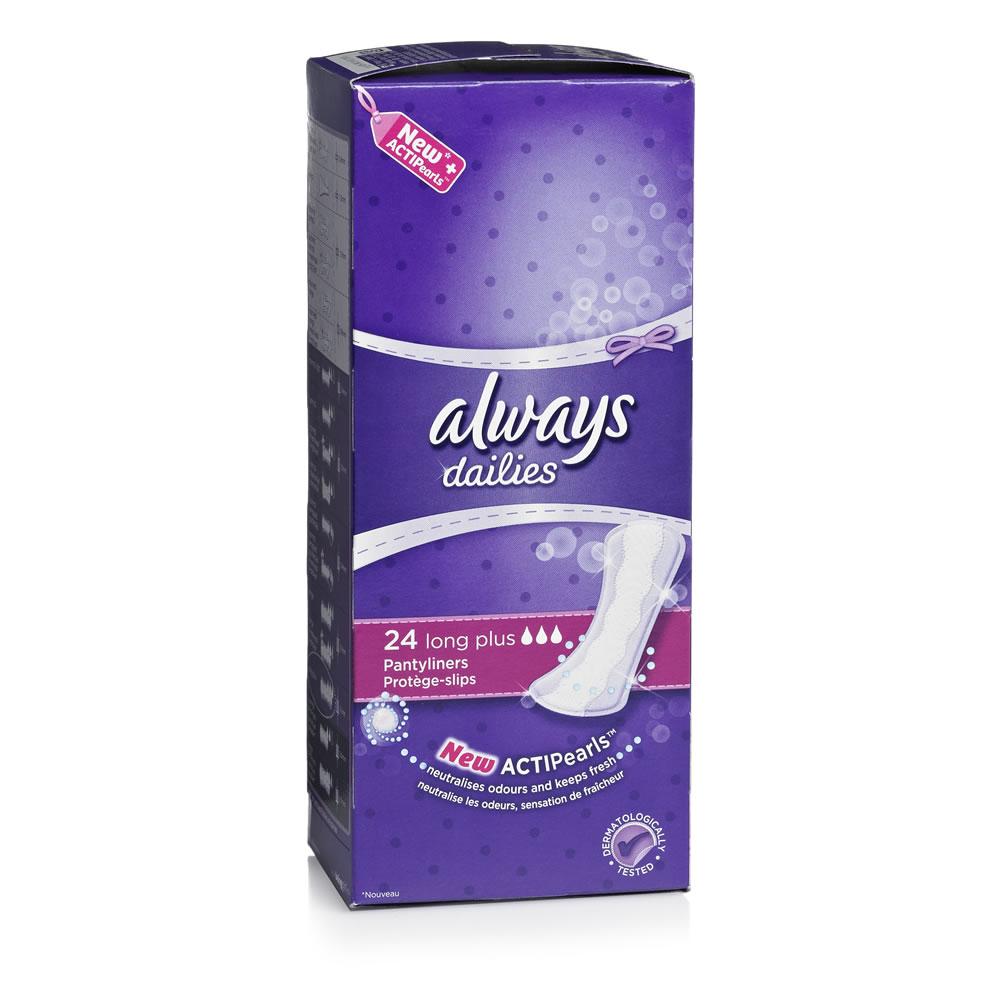 1 paquet de protège-slip Always Dailies (gratuit selon les enseignes)