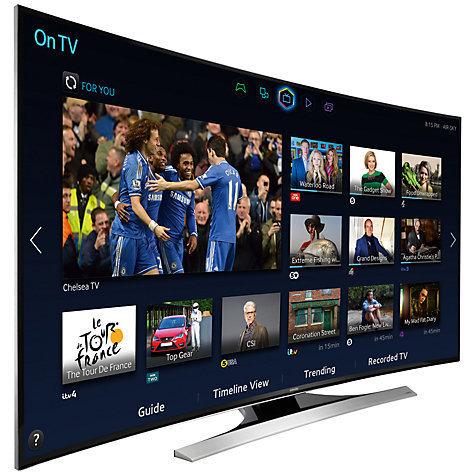 """TV 55"""" Samsung UE55H6850 Full HD, incurvée, CMR600, 3D (Avec ODR de 150€) + 50€ offert en carte cadeau"""