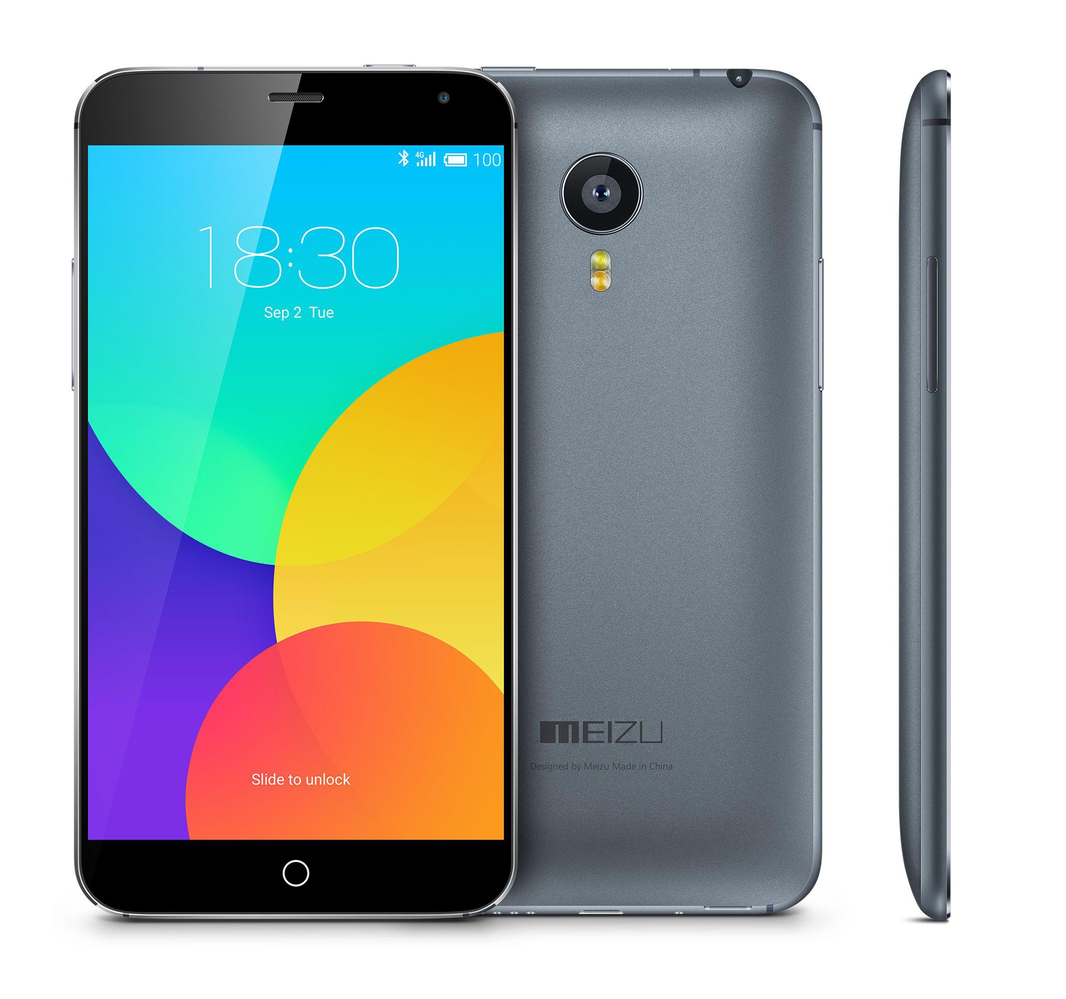 Smartphone Meizu MX4 32 Go Gris (avec ODR 30€)