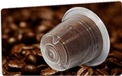 Lot de 50 dosettes compatibles Nespresso Café O'Vesuvio