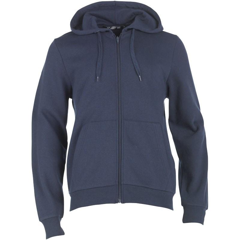 Sweat à Capuche à Fermeture Zippée KP85 Homme Bleu Marine (Taille S ou M ou L, selon colori)