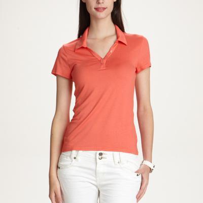 Livraison gratuite sans miminum et sélection d'articles en promo - Ex : T-shirt Femme col polo