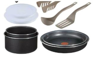 Batterie de cuisine Tefal Ingenio 5 - Set de 10 Pièces