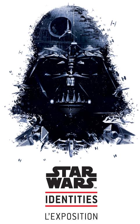 1 place achetée = 1 place gratuite pour l'exposition Star Wars Identities