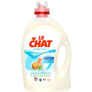 Lessive Le Chat Sensitive 3L (40 lavages)