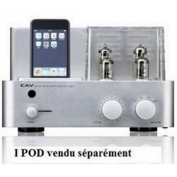 Ampli à tubes Cav Audio T-2 silver