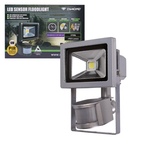 Projecteur LED avec capteur de mouvements 10 Watts