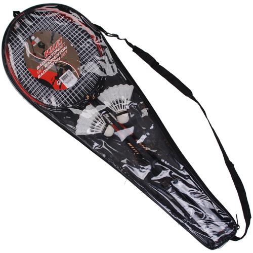 Set de badminton (2 raquettes + 2 volants)