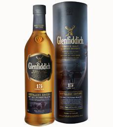Glenfiddich 15 ans d'age édition Distillery en étui