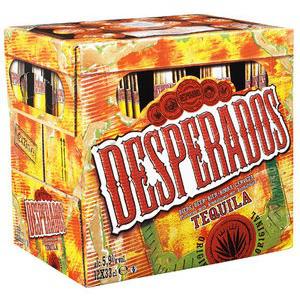 2 packs de 12 Desperados 33 cl