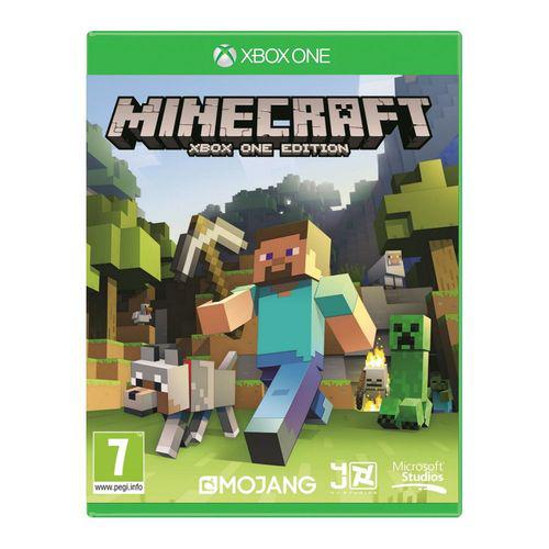 Minecraft sur Xbox One version boîte