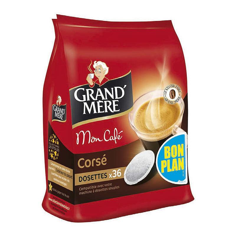 Lot de 2 paquets x36 dosettes Grand'Mère (BDR 2,20€)