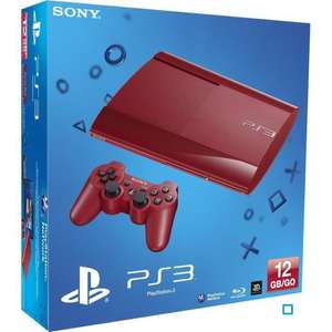 Console PS3 Ultra Slim 12 Go - Rouge