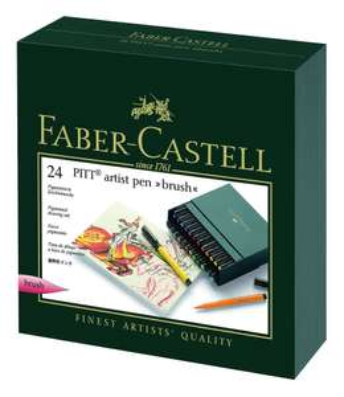 Boite de 24 feutres Faber-Castell