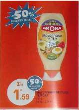 Mayonnaise Amora 710 gr (via bon de réduction)