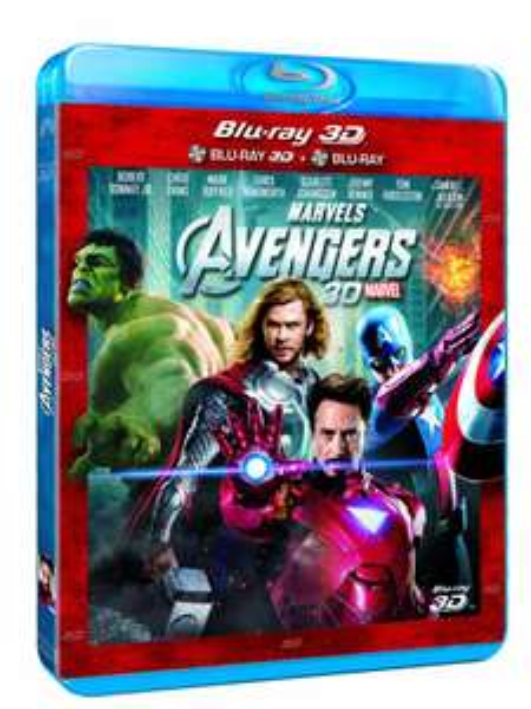 Blu-ray Avengers (Combo 3D + 2D)