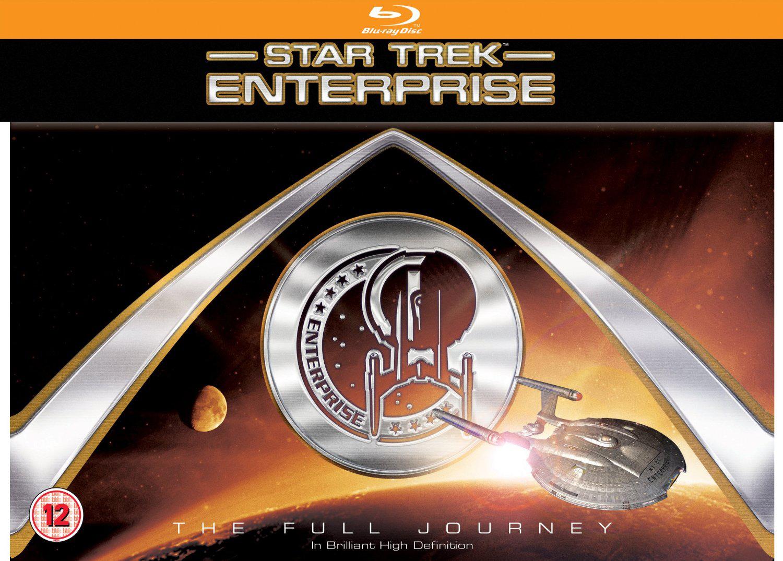 Coffret Blu-ray Intégrale Star Trek Enterprise (4 saisons)