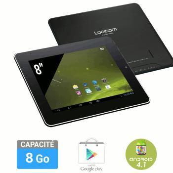 "Tablette 8"" Logicom Dual Core 8Go"