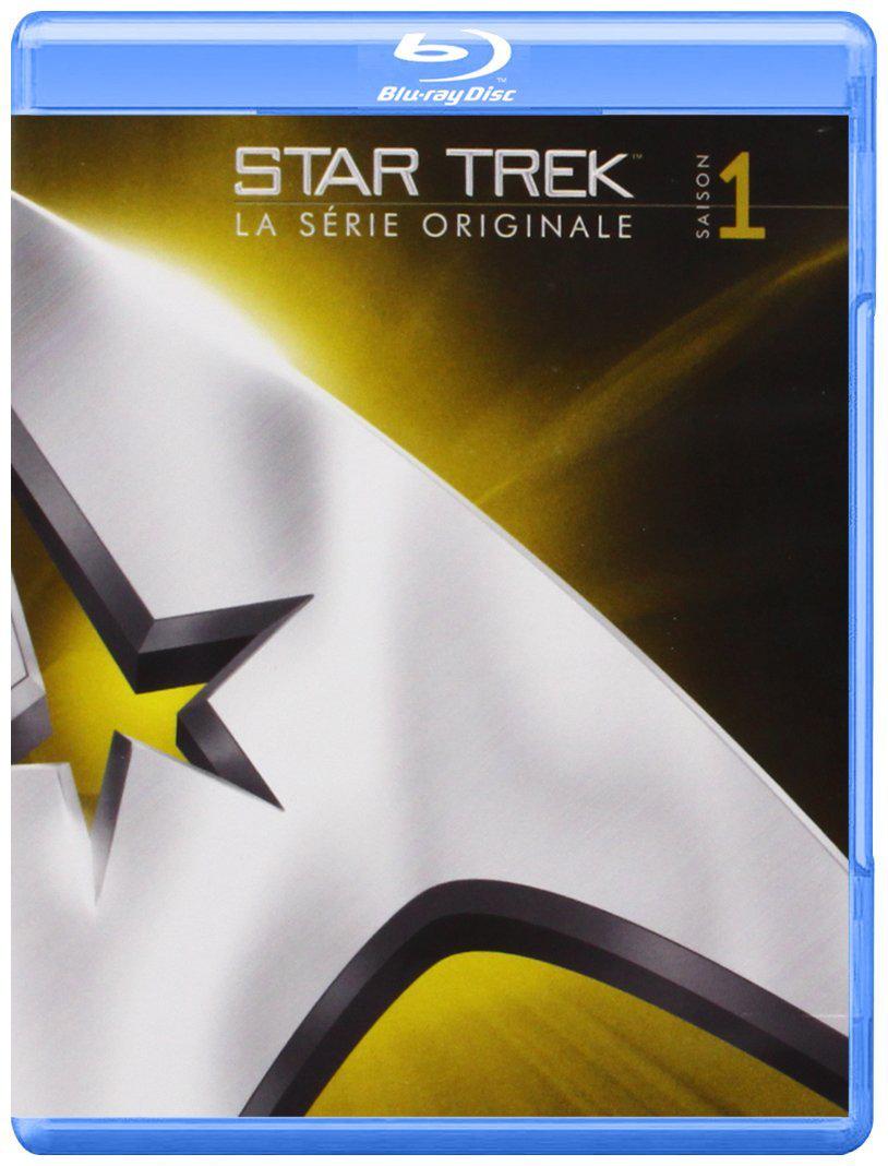 Blu-Ray Star Trek TOS Saison 1 - édition remastérisée