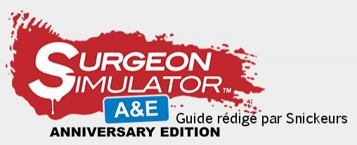 Jeu PC (dématérialisé) Surgeon Simulator Anniversary Edition