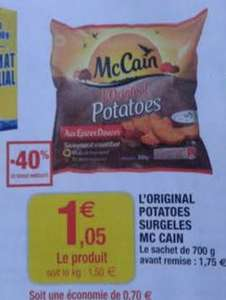 Potatoes McCain 700g (via promo et bon de réduction)