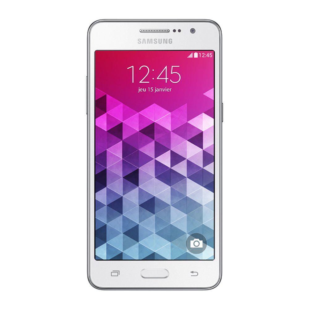 Smartphone Samsung Galaxy Grand Prime Blanc (avec ODR 30€)