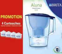 Carafe Brita Aluna + 4 filtres