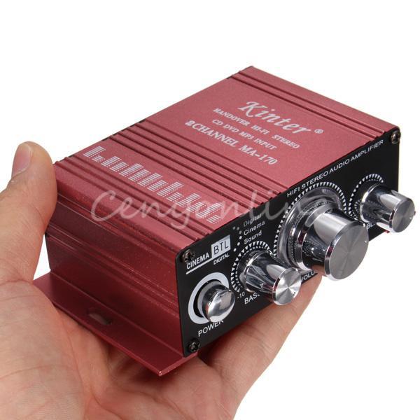 Mini Amplificateur Hi-Fi Stéréo 20w