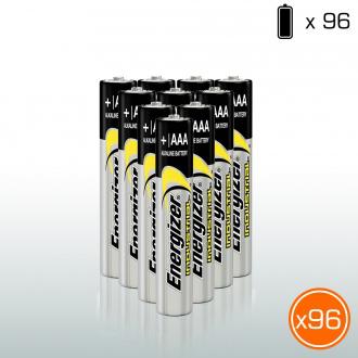 Pack de 96 piles alcalines Energizer AAA