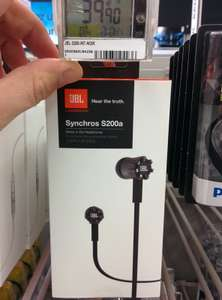 Ecouteurs  Intra JBL S200a