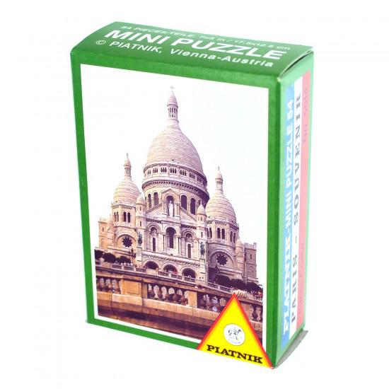 Plus de 1500 puzzles jusqu'à -90% - Ex : Puzzle 54 pièces - Monuments de Paris : Sacré Coeur Piatnik