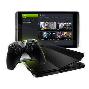 "Tablette 8"" Nvidia Shield Tablet 16 Go + Wireless Controller à 299.95€ ou 4G 32Go + Wireless Controller + Cover + 3 jeux"