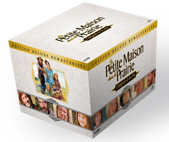 Coffret 54 DVD - Intégrale la Petite maison dans la prairie (Édition Deluxe Remastérisée)