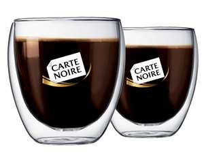 10 Verres à café Bodum Carte Noire 25cl (avec 50 étoiles)