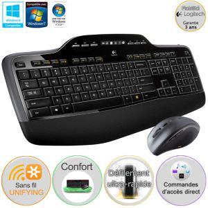 Pack clavier-souris sans fil Logitech MK710