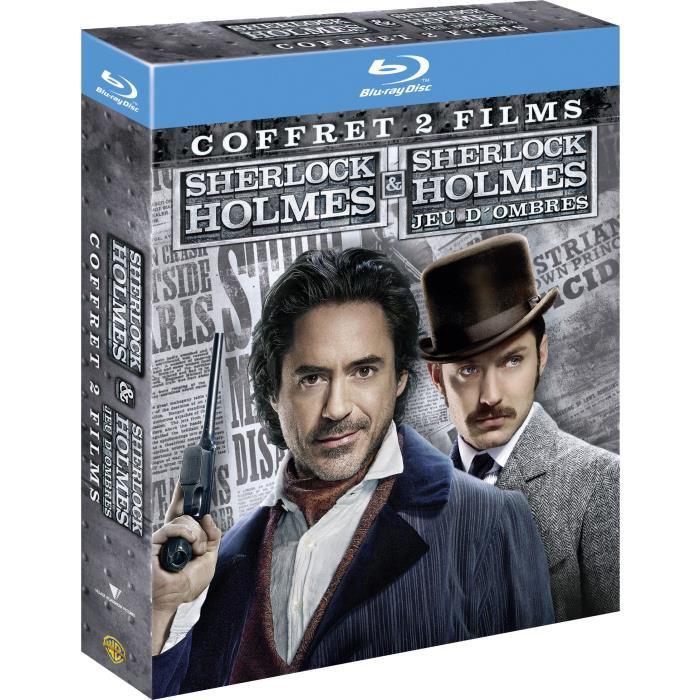 Coffret 2 Blu-Ray Sherlock Holmes 1 + 2