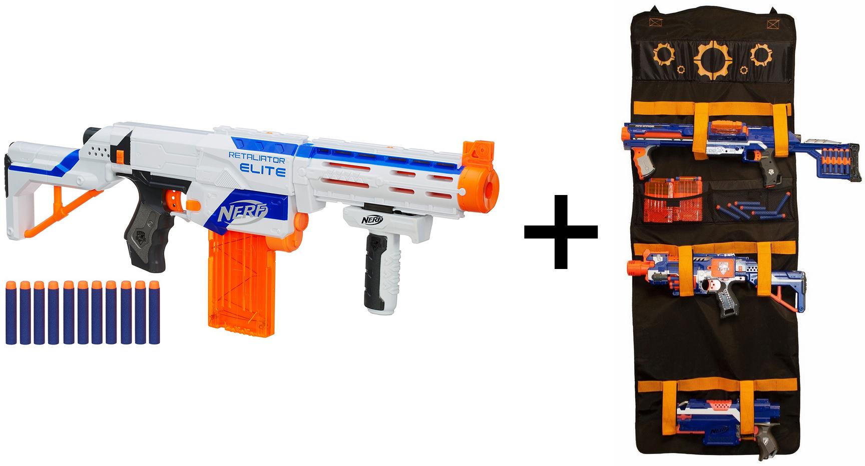 Fusil Nerf Elite Retaliator XD + pack de transport Nerf Elite Splash Toys offert (valeur 39,99€)