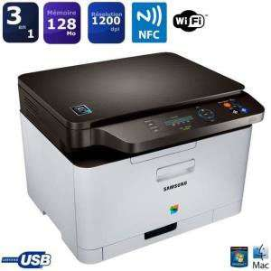 Imprimante multifonction laser couleur Samsung  SL-C467W + toner noir (avec ODR 60€)