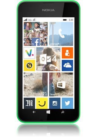 Smartphone Nokia Lumia 530 - Vert