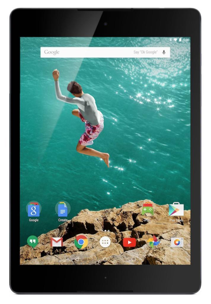 Tablette tactile 8,9'' Google Nexus 9 - 16 Go Android 5.0 Lollipop Noir
