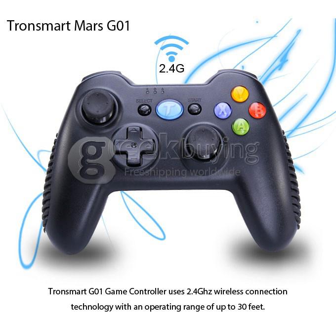 Manette sans fil Tronsmart Mars G01 (compatible PS3, PC, Android)