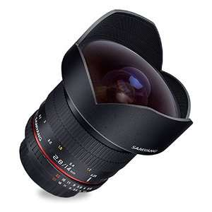 Objectif grand angle Samyang -14 mm - f/2.8 IF ED UMC Aspherical pour monture Samsung NX