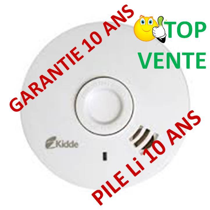 Détecteur de fumée NF (garantie 10 ans) offert aux habitants de Belfort
