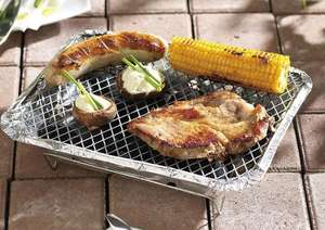 Lot de 2 Barbecues à usage unique